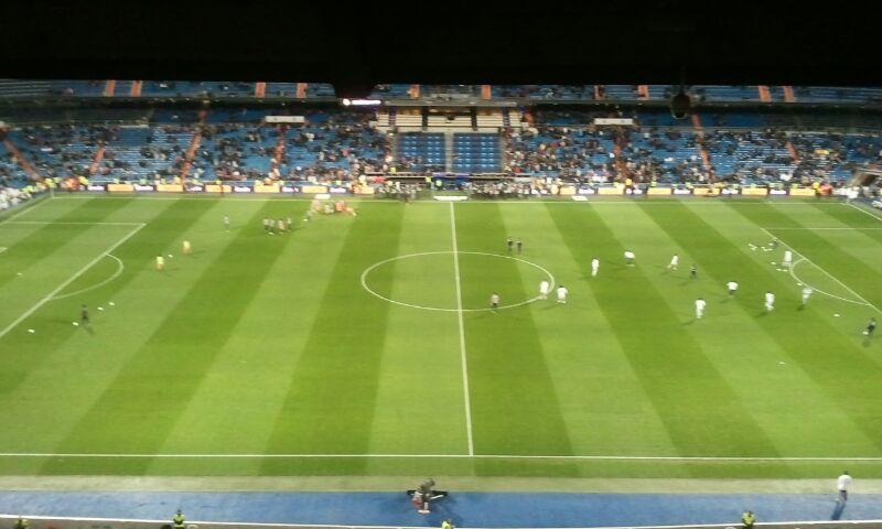 Palco Santiago Bernabéu 2013
